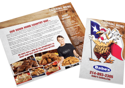 Babes Chicken – Catering Menu