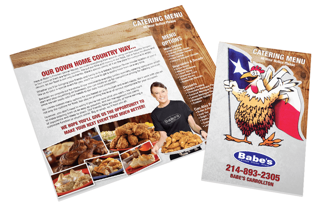 Babes Chicken - Catering Menu