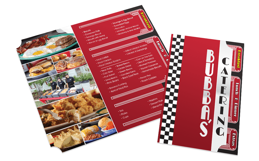 Bubbas Chicken Dinner House - Catering Menu