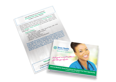 Texas Health Physicians – Self Mailer