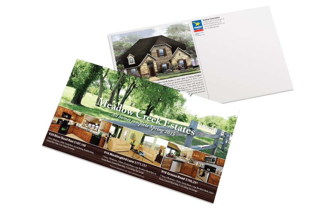 Antares Homes – MCS Postcard