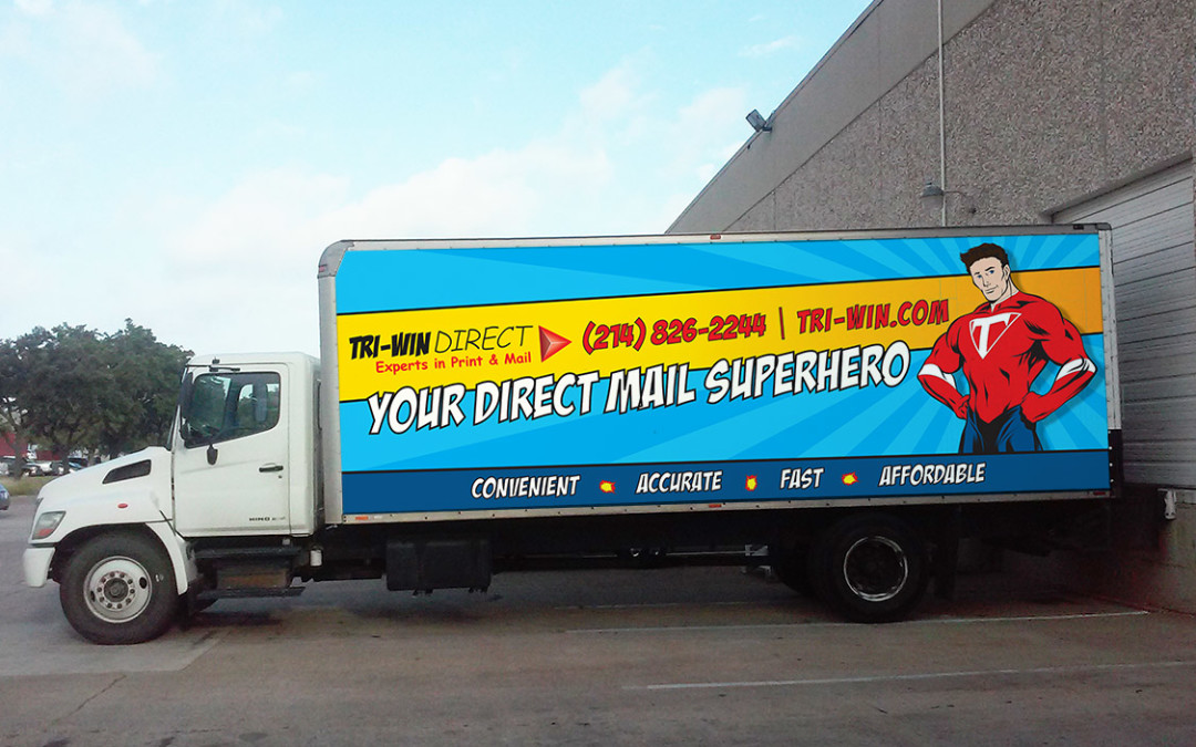 Tri-Win Direct – Vinyl Truck Wrap